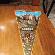 Banderines de colección: BANDERIN DE CEUTA . Lote 145906666
