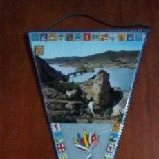 Banderines de colección: BANDERIN AÑOS 60 PANTANO DE LA PEÑA. Lote 146749198