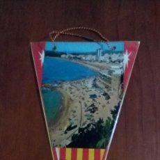 Banderines de colección: BANDERIN AÑOS 60 LLORET DE MAR. Lote 146752834