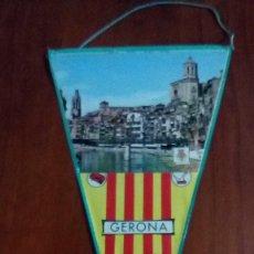 Banderines de colección: BANDERIN AÑOS 60 GERONA. Lote 146754834