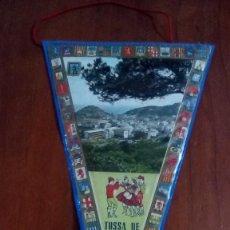 Banderines de colección: BANDERIN AÑOS 60 TOSSA DE MAR 2. Lote 146755074