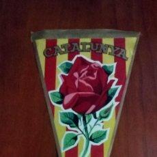 Banderines de colección: BANDERIN AÑOS 60 CATALUNYA. Lote 146755170