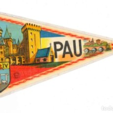 Banderines de colección: BANDERÍN.- PAU. EXCLUSIVITÉ BEKA ORANGE- FRANCE. FRANCIA . Lote 147498510