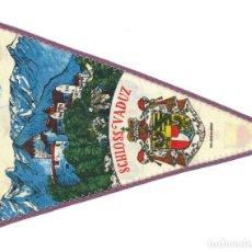 Banderines de colección: ANTIGUO BANDERÍN.- SCHLOSS VADUZ. CASTILLO VADUZ- ALEMANIA. Lote 147499618