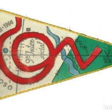 Banderines de colección: ANTIGUO BANDERÍN.- XIII MARXA DUFOUR. HORTA. OSONA. 1966. CEC- BARCELONA . Lote 147500706