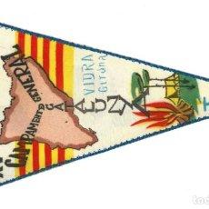 Banderines de colección: BANDERÍN.- XV CAMPAMENT GENERAL DE CATALUNYA. VIDRA. GERONA. FCM- 1965. Lote 147506446
