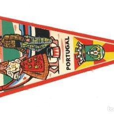 Banderines de colección: ANTIGUO BANDERÍN.- NAZARÉ. SOMAR- PORTUGAL . Lote 147507398