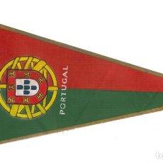 Banderines de colección: ANTIGUO BANDERÍN.- PORTUGAL (EN TELA). Lote 147508146