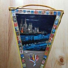 Banderines de colección: BANDERIN DE BURGOS. Lote 148111206