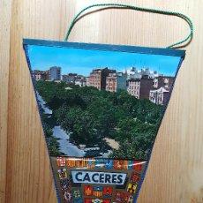 Banderines de colección: BANDERIN DE CACERES. Lote 148111450