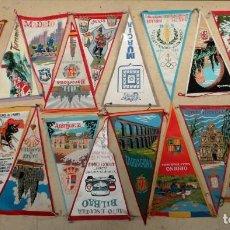 Banderines de colección: LOTE 20 BANDERINES VARIADOS AÑOS 6O. Lote 149162926