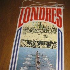 Banderines de colección: BANDERIN BIMBO OLIMPIADAS. LONDRES 1908.. Lote 151379150