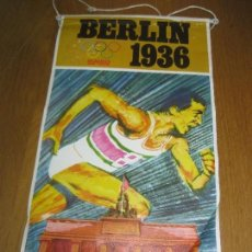 Banderines de colección: BANDERIN BIMBO OLIMPIADAS. BERLIN 1936.. Lote 151379366