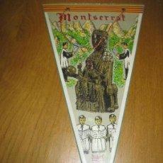 Banderines de colección: BANDERIN MONTSERRAT.. Lote 151395214