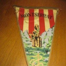 Banderines de colección: BANDERIN MONTSERRAT.. Lote 151395258