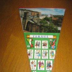 Banderines de colección: BANDERIN TERUEL.. Lote 151395710