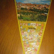 Banderines de colección: BANDERIN TERUEL.. Lote 151396058
