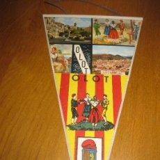 Banderines de colección: BANDERIN OLOT.. Lote 151396154