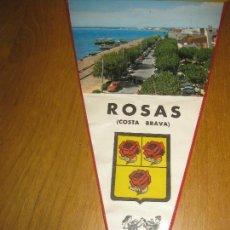 Banderines de colección: BANDERIN ROSAS (COSTA BRAVA). Lote 151396558