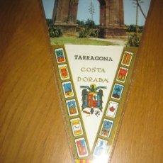 Banderines de colección: BANDERIN TARRAGONA COSTA DORADA. ARCO DE BARA.. Lote 151483378