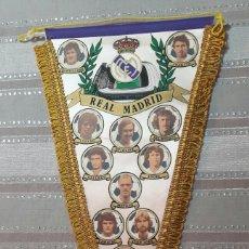 Banderines de colección: BANDERIN FUTBOL REAL MADRID (PRINCIPIOS DE LOS 80). Lote 151641660