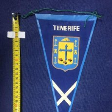 Banderines de colección: BANDERIN TENERIFE AÑOS 50 27,5X16CMS. Lote 151863322