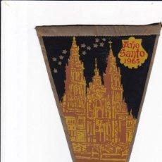 Banderines de colección: BANDERIN - AÑO SANTO 1965 - SANTIAGO DE COMPOSTELA . Lote 155304190