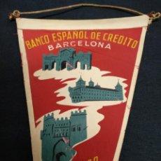Banderines de colección: BANCO ESPAÑOL DE CREDITO - RECUERDO DE LA EXCURSION - 1957. Lote 155346358