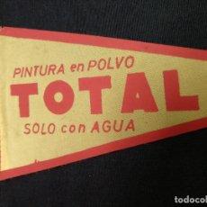 Banderines de colección: BANDERIN - PINTURA EN POLVO - TOTAL - SOLO CON AGUA. Lote 155353114