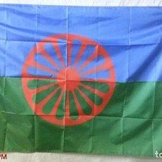 Banderines de colección: BANDERA GITANA. Lote 171387044
