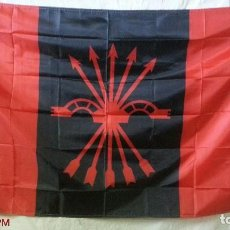 Banderines de colección: BANDERA FALANGISTA. Lote 155582970