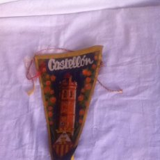 Banderines de colección: BANDERÍN. CASTELLÓN. AÑOS 50. Lote 156683978