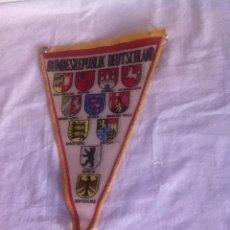 Banderines de colección: BANDERÍN. REPÚBLICA ALEMANA. AÑOS 50. Lote 156684064