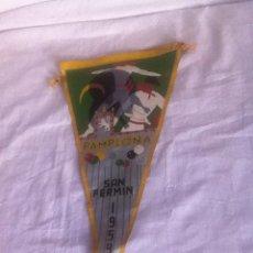 Banderines de colección: BANDERÍN. PAMPLONA. SAN FERMÍN. 1959. Lote 156684149