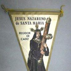Galhardetes de coleção: BANDERIN JESUS NAZARENO DE SANTA MARIA, SOBRE 1960 - BANDERIN-194. Lote 264345596