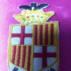 Banderines de colección: ESCUDO DE TELA CATALUÑA. Lote 158671722