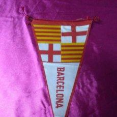 Banderines de colección: MUY BONITO BANDERÍN BARCELONA. Lote 158673658