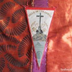 Banderines de colección: BANDERINES-V39-A-ANTIGUO-26X14CM-ESPAÑA-MADRID-VALLE DE LOS CAIDOS. Lote 159546314