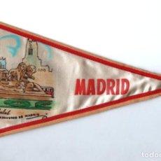 Banderines de colección: BANDERÍN EN TELA LA CIBELES MADRID. Lote 159768518