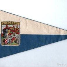 Banderines de colección: BANDERÍN EN TELA NURNBERG. Lote 159768778