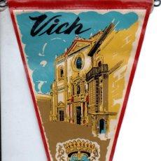 Banderines de colección: BANDERÍN EN TELA VICH. Lote 159769114