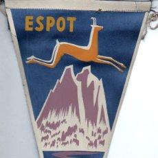 Banderines de colección: BANDERÍN EN TELA ESPOT LLEIDA. Lote 159769130