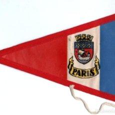 Banderines de colección: BANDERÍN EN TELA PARIS. Lote 159769198