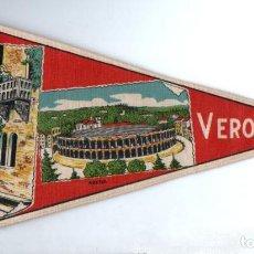 Banderines de colección: BANDERÍN EN TELA VERONA. Lote 159770210