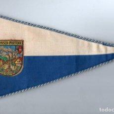 Banderines de colección: BANDERÍN EN TELA GARMISCH PARTENK - BAVIERA. Lote 159770594