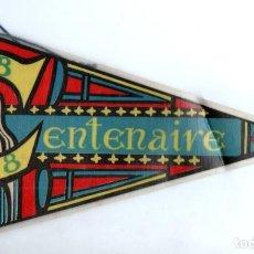Banderines de colección: BANDERIN LOURDES CENTENAIRE 1858-1958. Lote 159775286