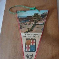 Banderines de colección: SAN FELIU DE GUIXOLS. Lote 161194274