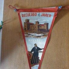 Banderines de colección: NAVARRA - RECUERDO DE JAVIER. Lote 161199238