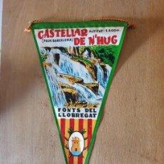 Banderines de colección: CASTELLAR DE N'HUG. Lote 161200082
