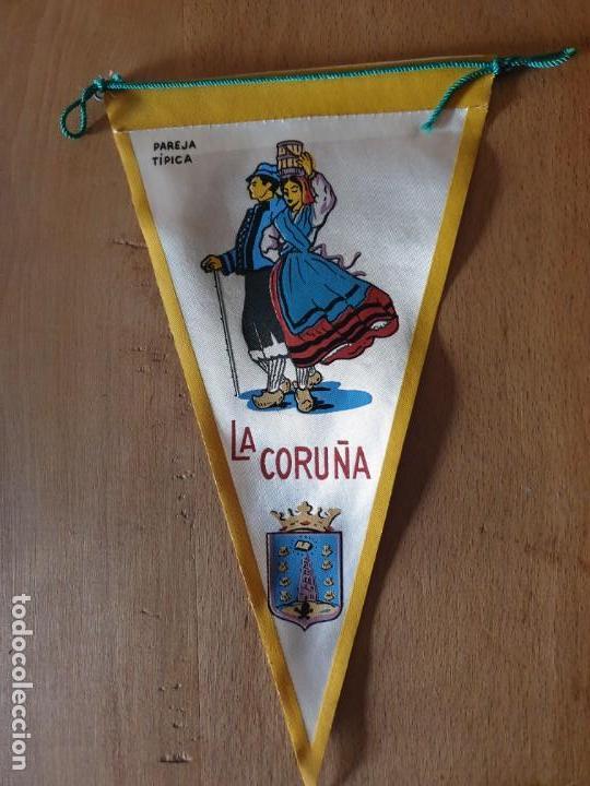 LA CORUÑA (Coleccionismo - Banderines)
